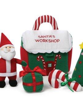 Gund Santa's Workshop Playset