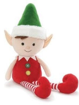"Gund Buttons the Elf ""18"
