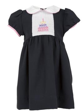 Carriage House Navy Birthday Dress