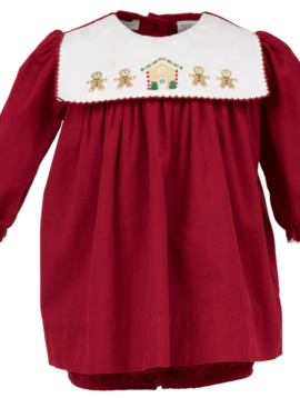 Carriage House Gingerbread Long Sleeve Dress
