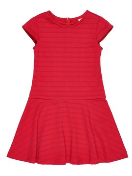 Florence Eiseman Red Cap Sleeve Dress