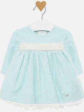 Mayoral Aqua Tulle Dress