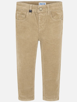 Mayoral Camel Corduroy Trousers