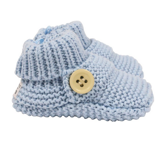 Korango Button Knit Bootie