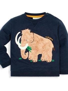JoJo Maman Bebe Navy Mammoth Sweatshirt