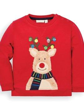 JoJo Maman Bebe Reindeer Sweatshirt