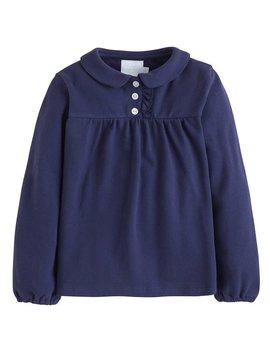 Little English Navy Patty Shirt