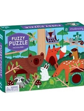 hachette book group Woodland Fuzzy Puzzle