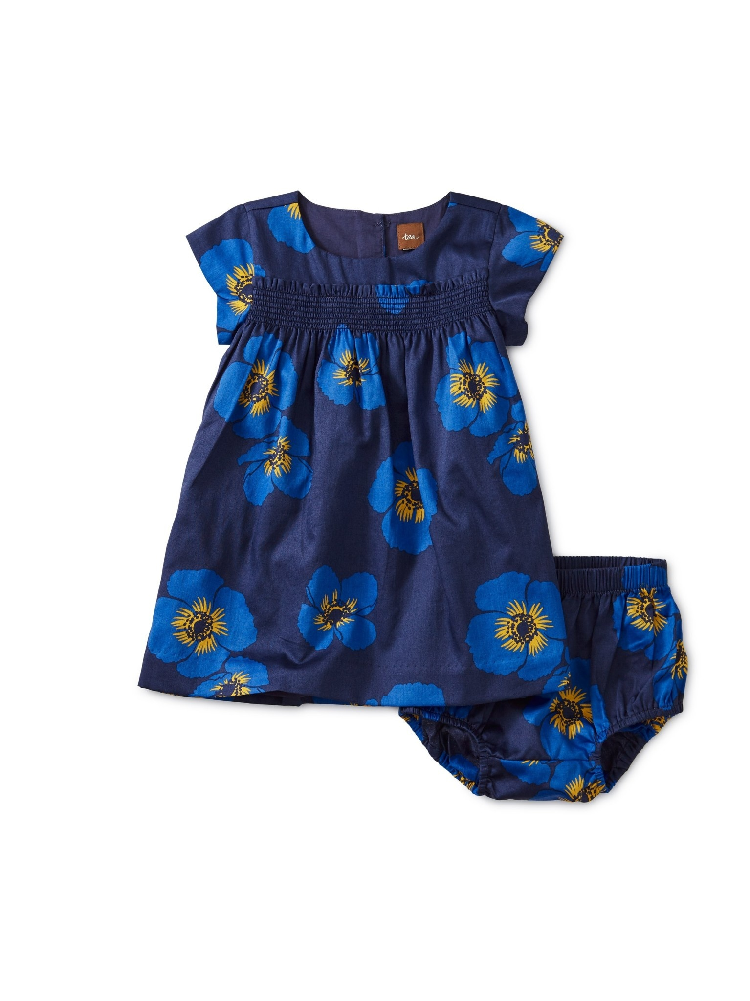 Tea Collection Poppy Smocked Baby Dress