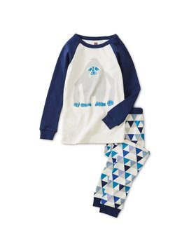 Tea Collection Yeti Raglan Pajamas