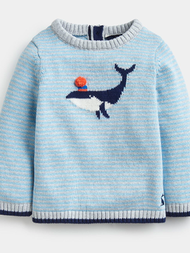 Joules Glee Blue Whale Top