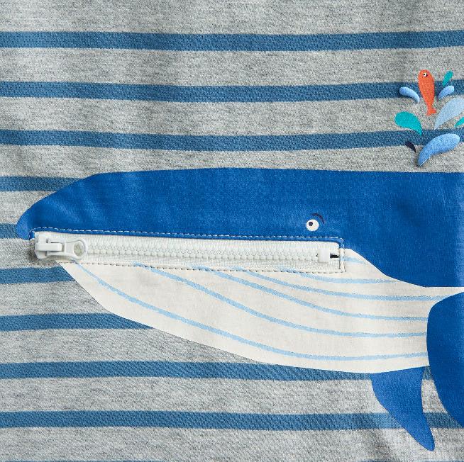 Joules Zipadee Whale Top