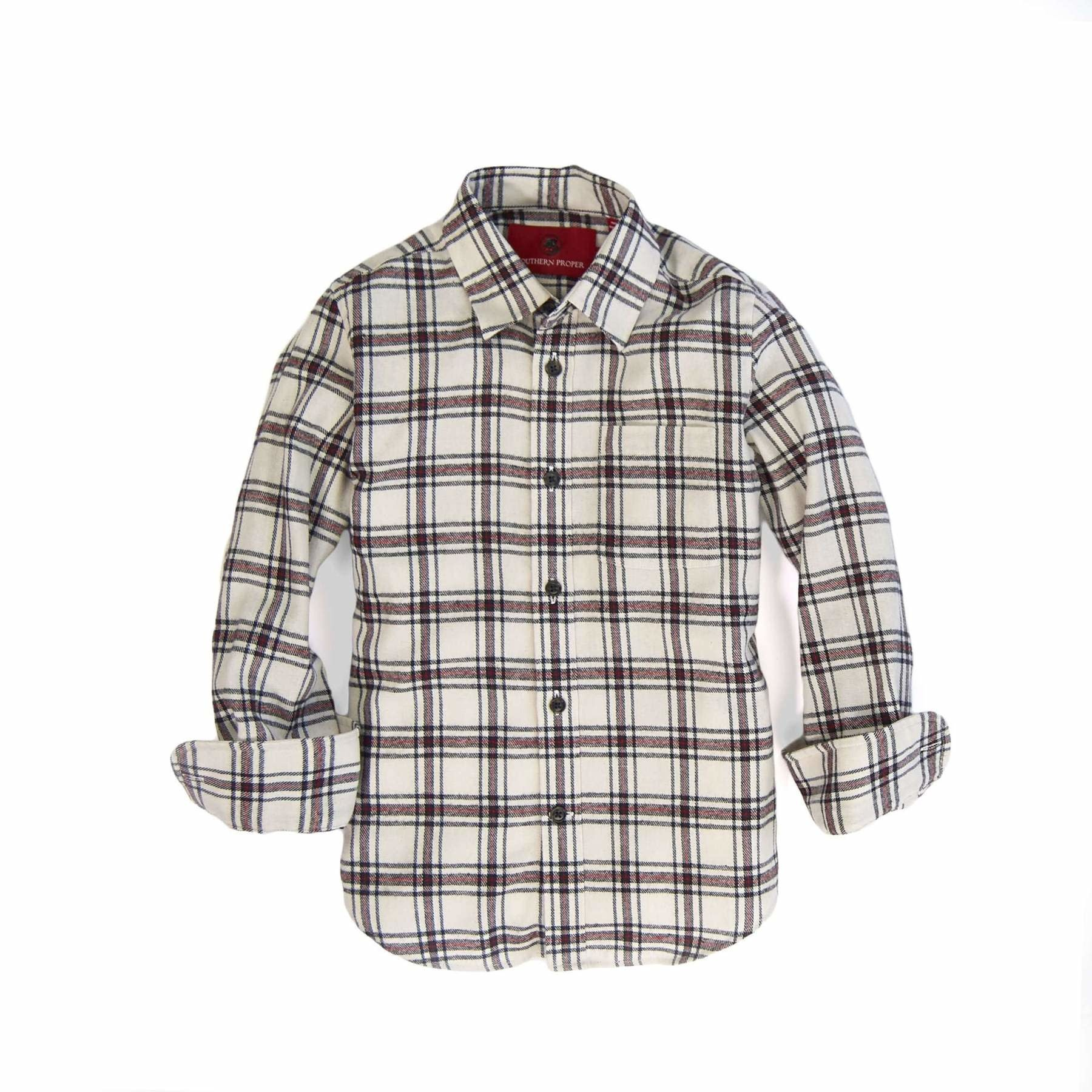 Southern Proper Clarksdale Flannel Shirt