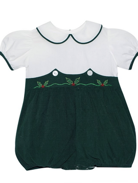 Lullaby Set Holly Embroidered Bubble