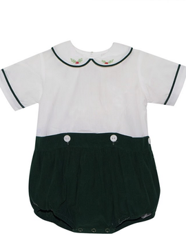 Lullaby Set Holly Embroidered Button On