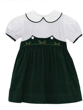 Lullaby Set Holly Embroidered Dress