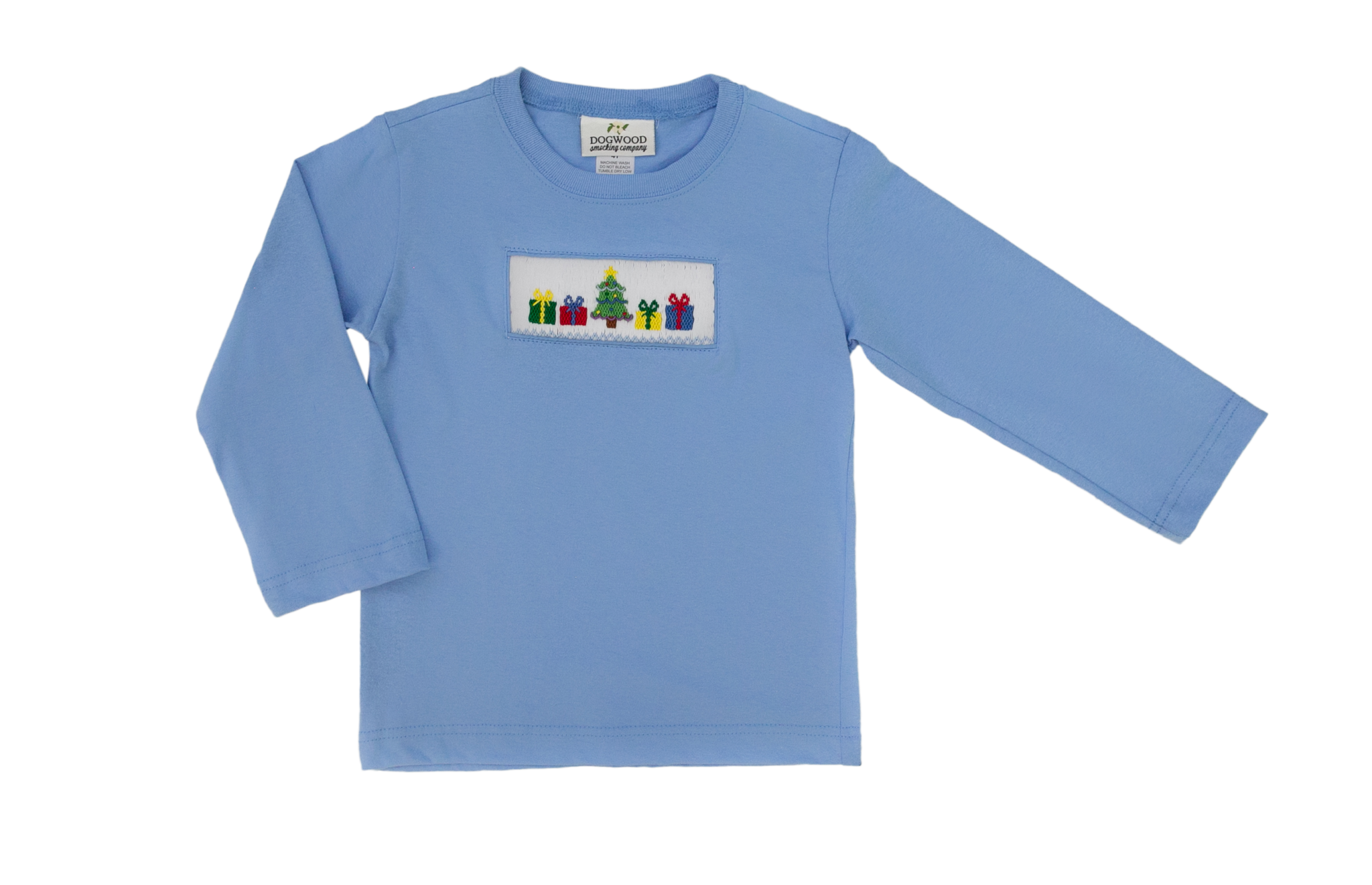 Dogwood Smocking Co Christmas Morning Shirt
