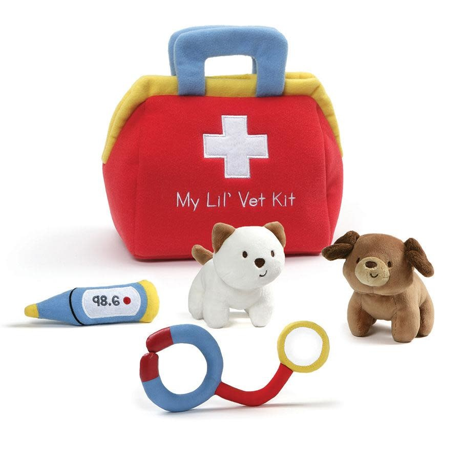 Gund My Lil Vet Kit Playset