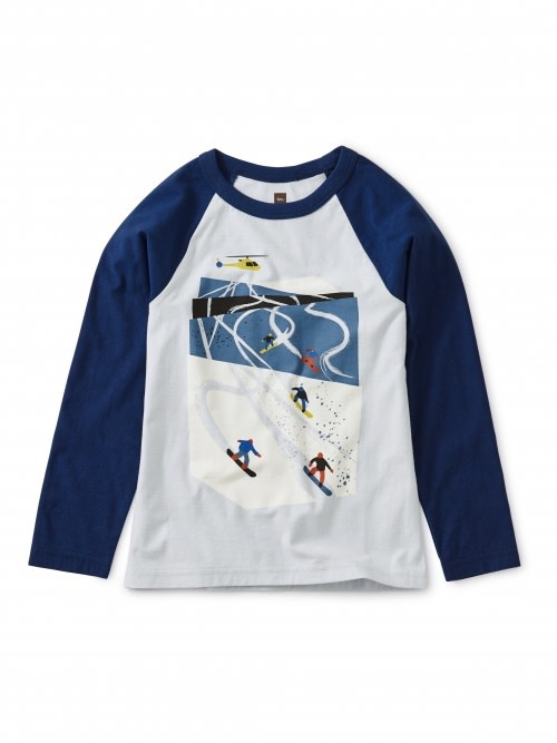 Tea Collection Ski Slopes Raglan Tee