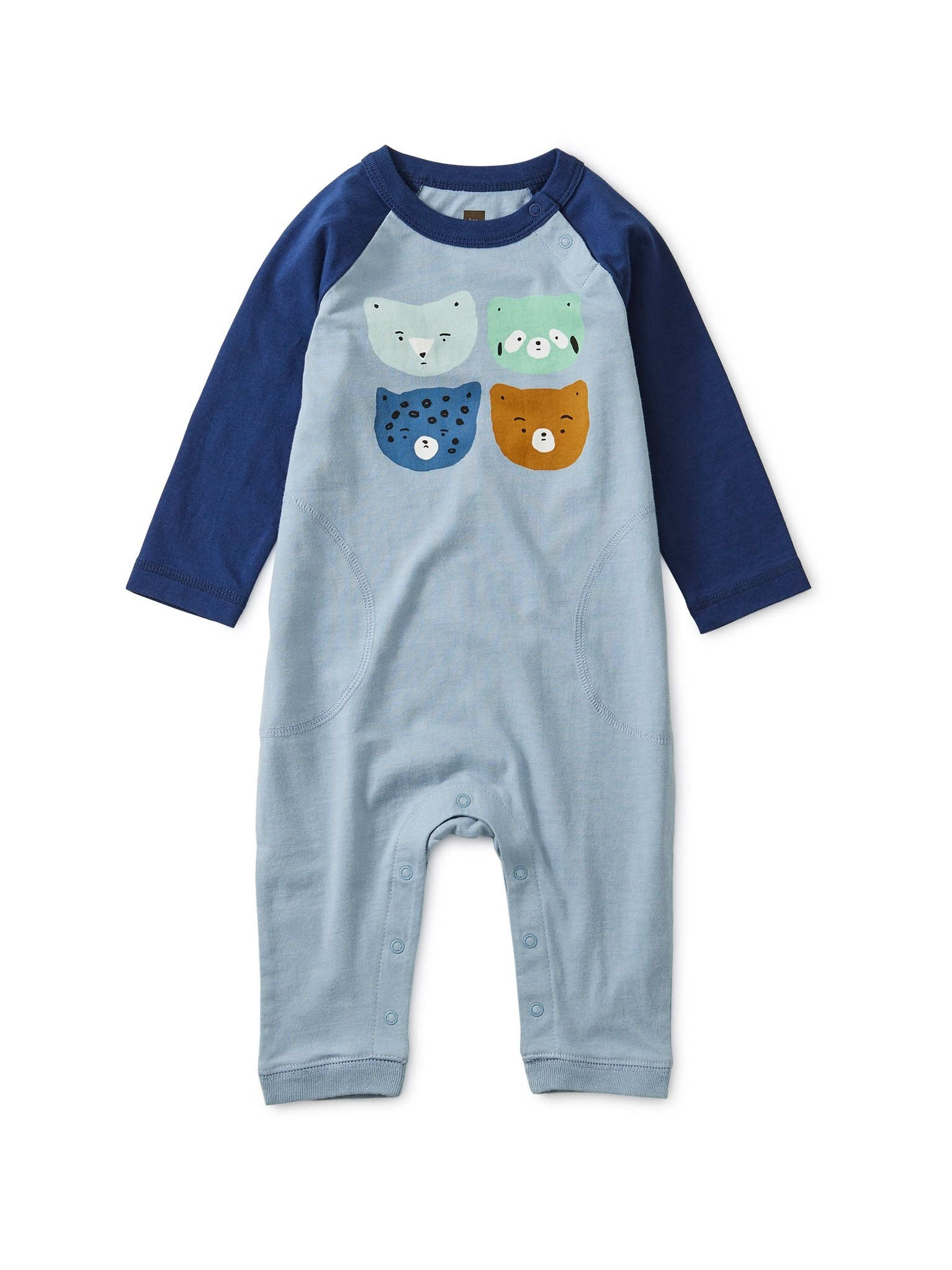 Tea Collection Raglan Critter Romper