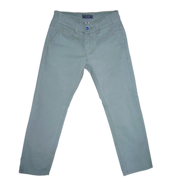 toobydoo Grey Slim Fit Chino