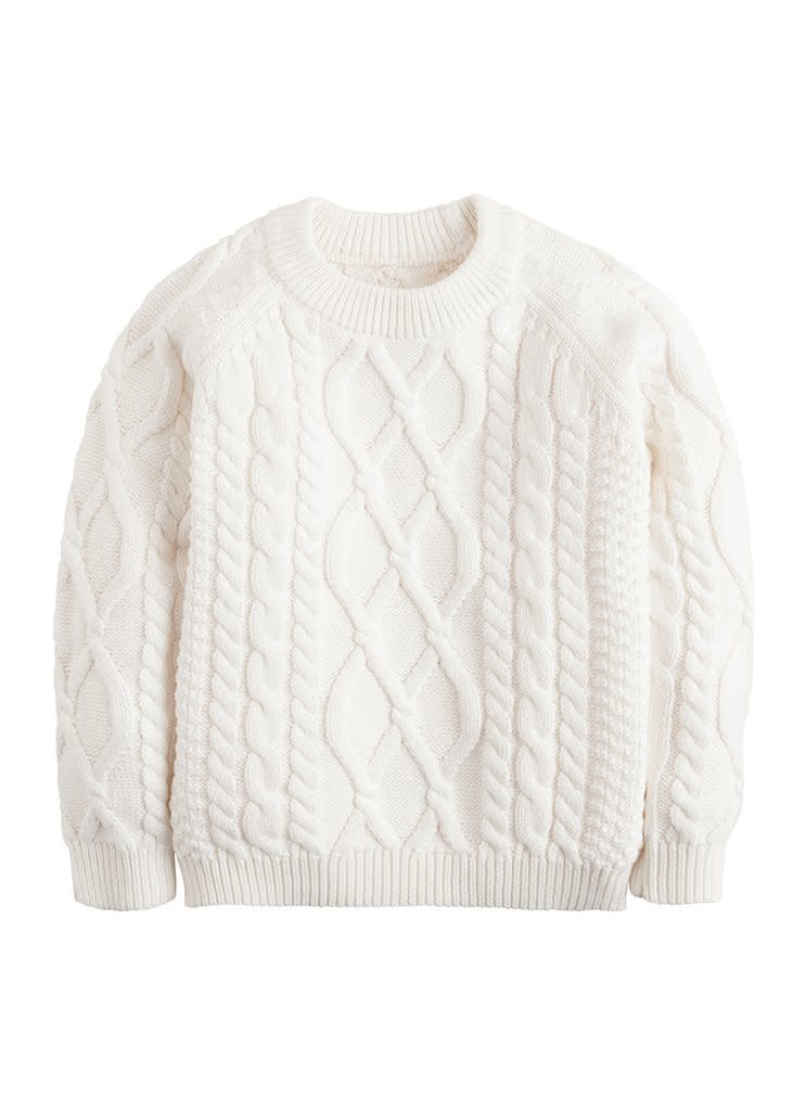 Little English Cable Knit Sweater