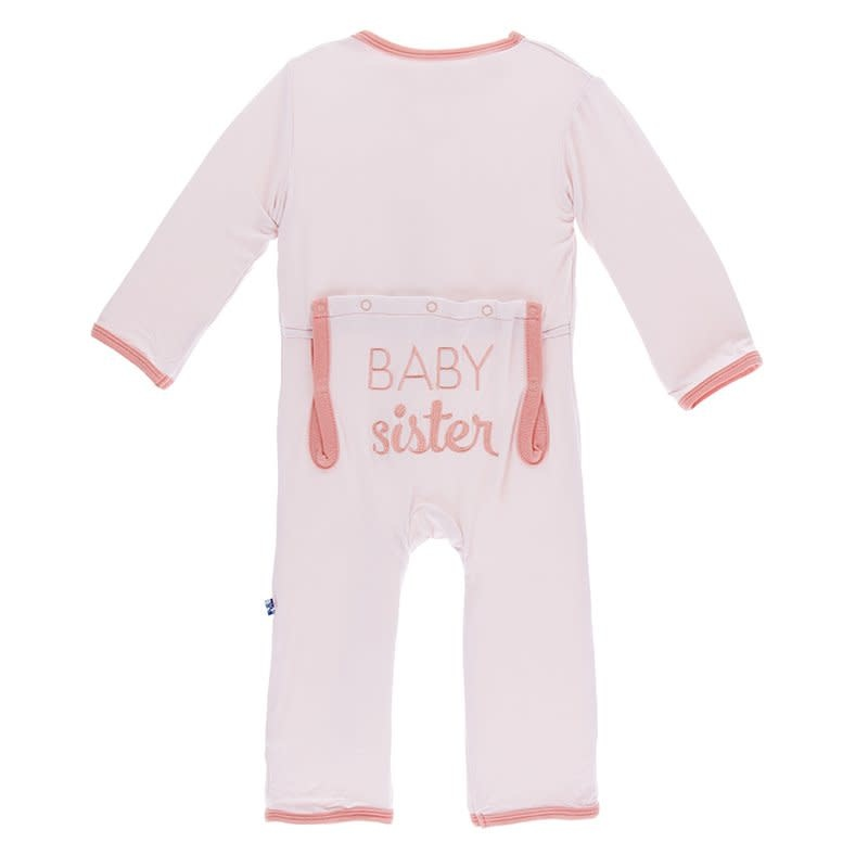 Kickee Pants Applique Coverall