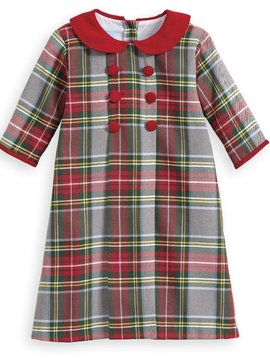 Bella Bliss Kingston Plaid Eva Dress