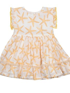 Pink Chicken Gold Starfish Niley Dress