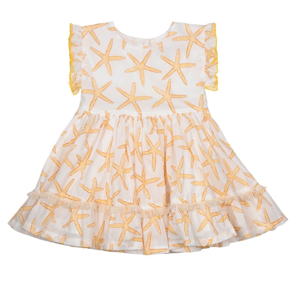 Pink Chicken Gold Starfish Niley Dress