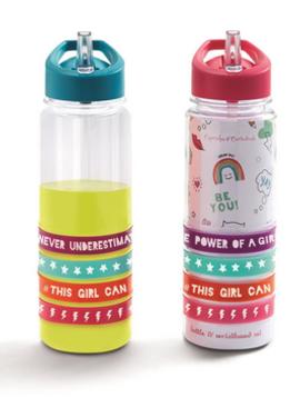 cupcakes & cartwheels Water Bottle/Bracelets