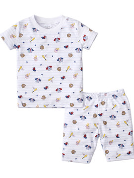 Kissy Kissy Ball Park Short PJ