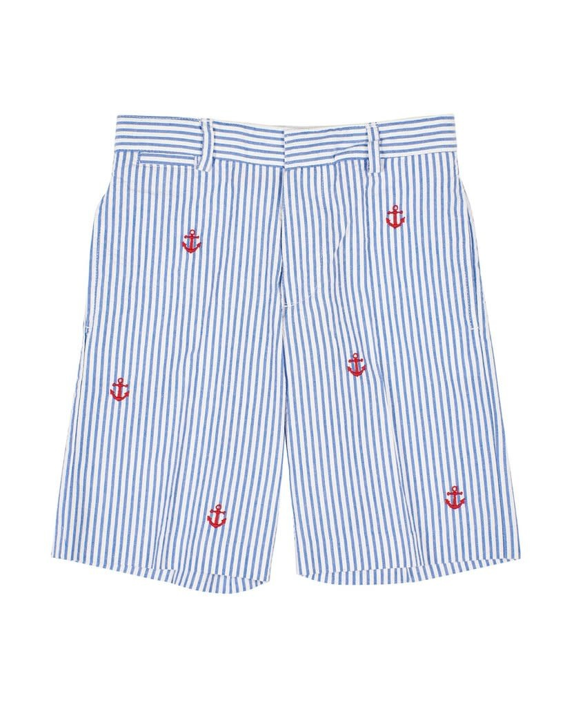 Florence Eiseman Anchor Seersucker Shorts