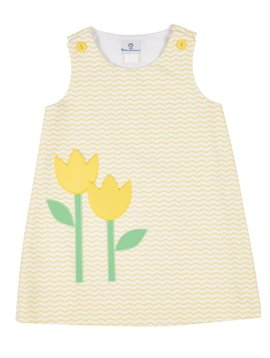 Florence Eiseman Tulip Pocket Pique Dress
