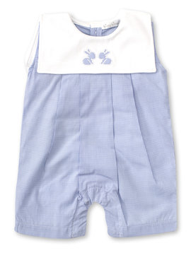 Kissy Kissy Pique Bunnies Playsuit