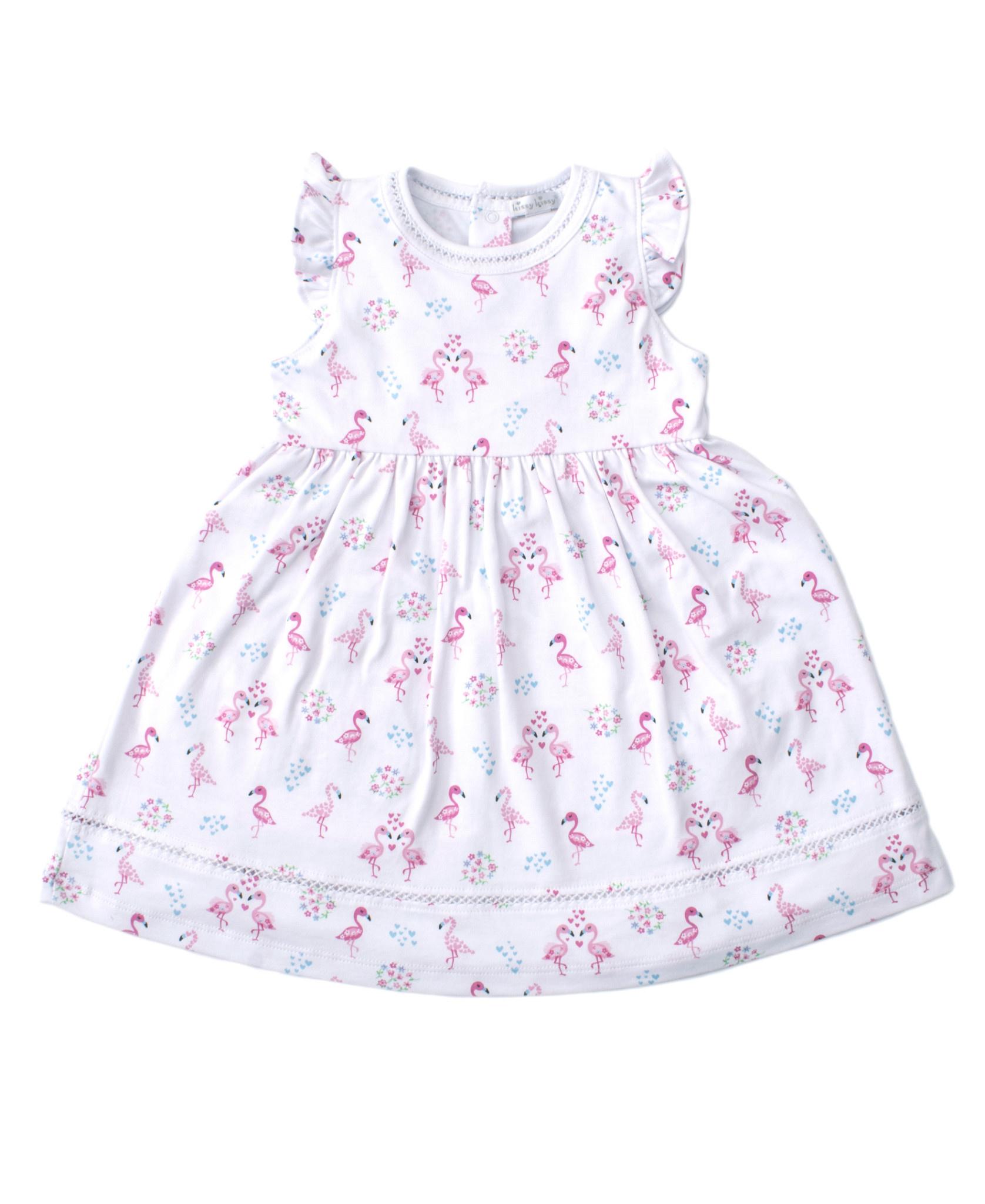 Kissy Kissy Flowering Flamingos Dress