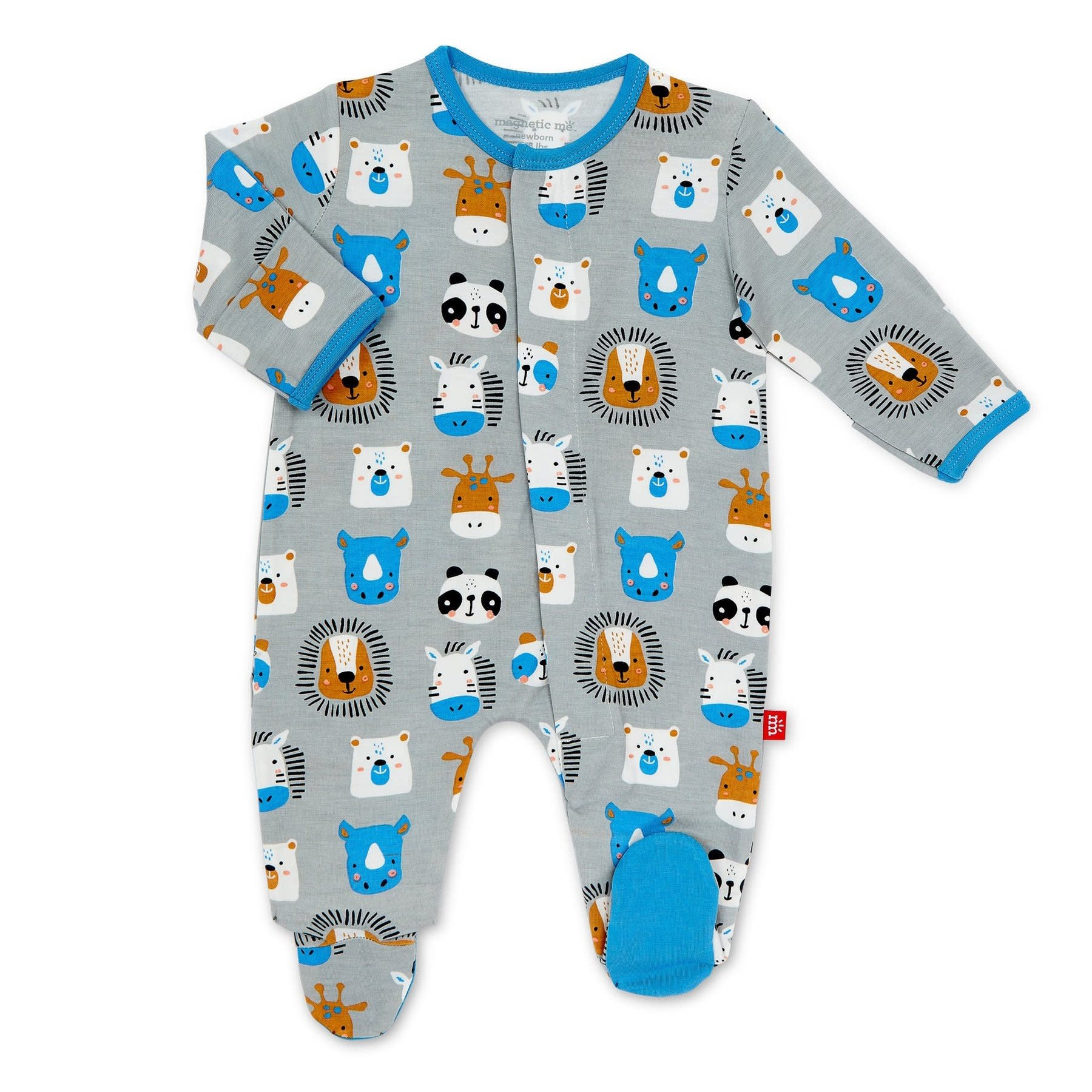 Magnificent Baby Animal House Modal Footie