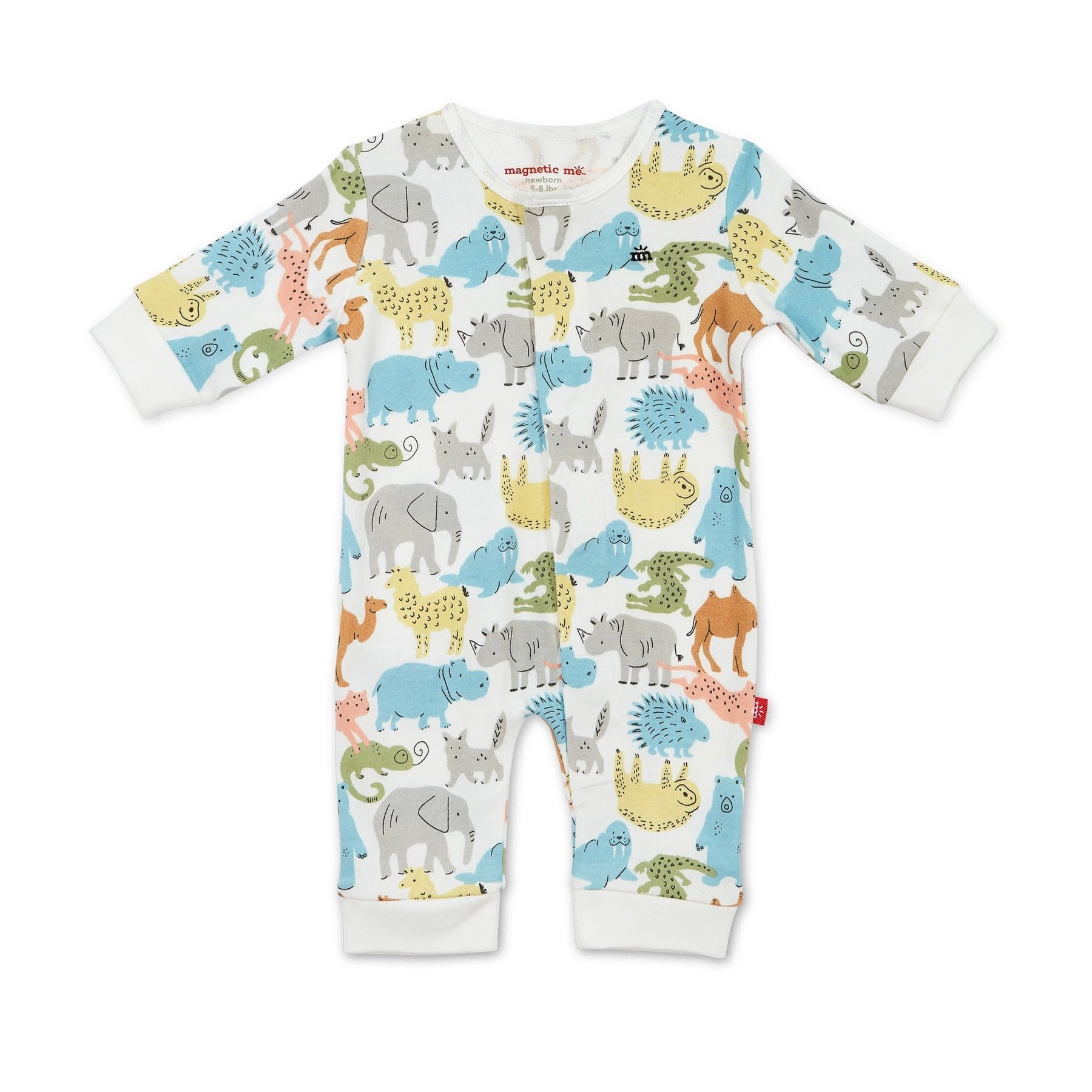 Magnificent Baby Zoo Crew Coverall