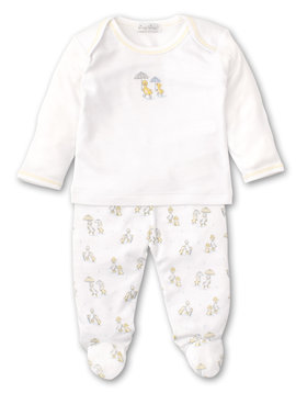 Kissy Kissy Duck Footed Pant Set