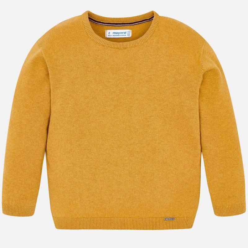 Mayoral Caramel Cotton Sweater