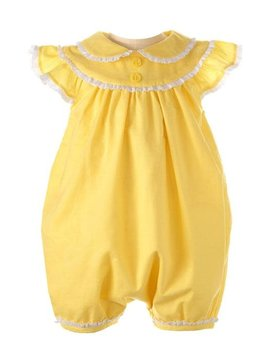Rachel Riley Yellow Lace Trim Bubble