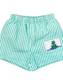 Bailey Boys Frogs Swim Trunk