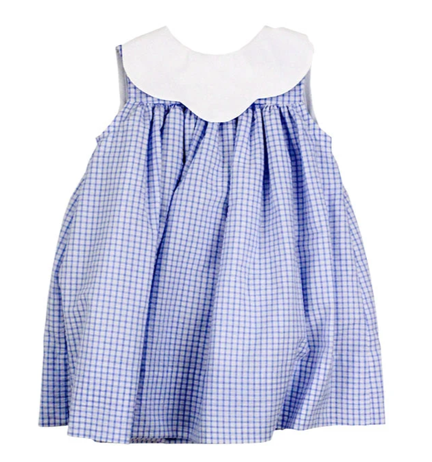 Bailey Boys Blue Windowpane Float Dress