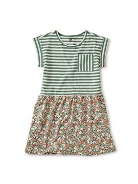Tea Collection Cyprus Floral Mix Dress