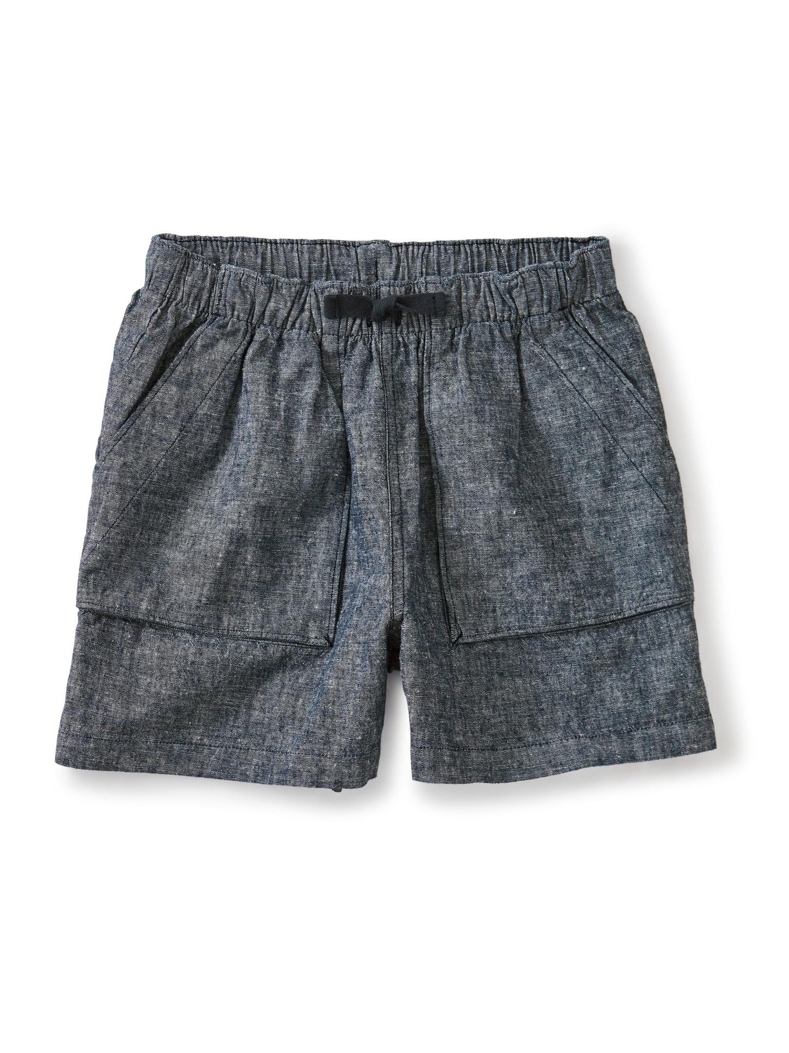 Tea Collection Blue Camp Shorts