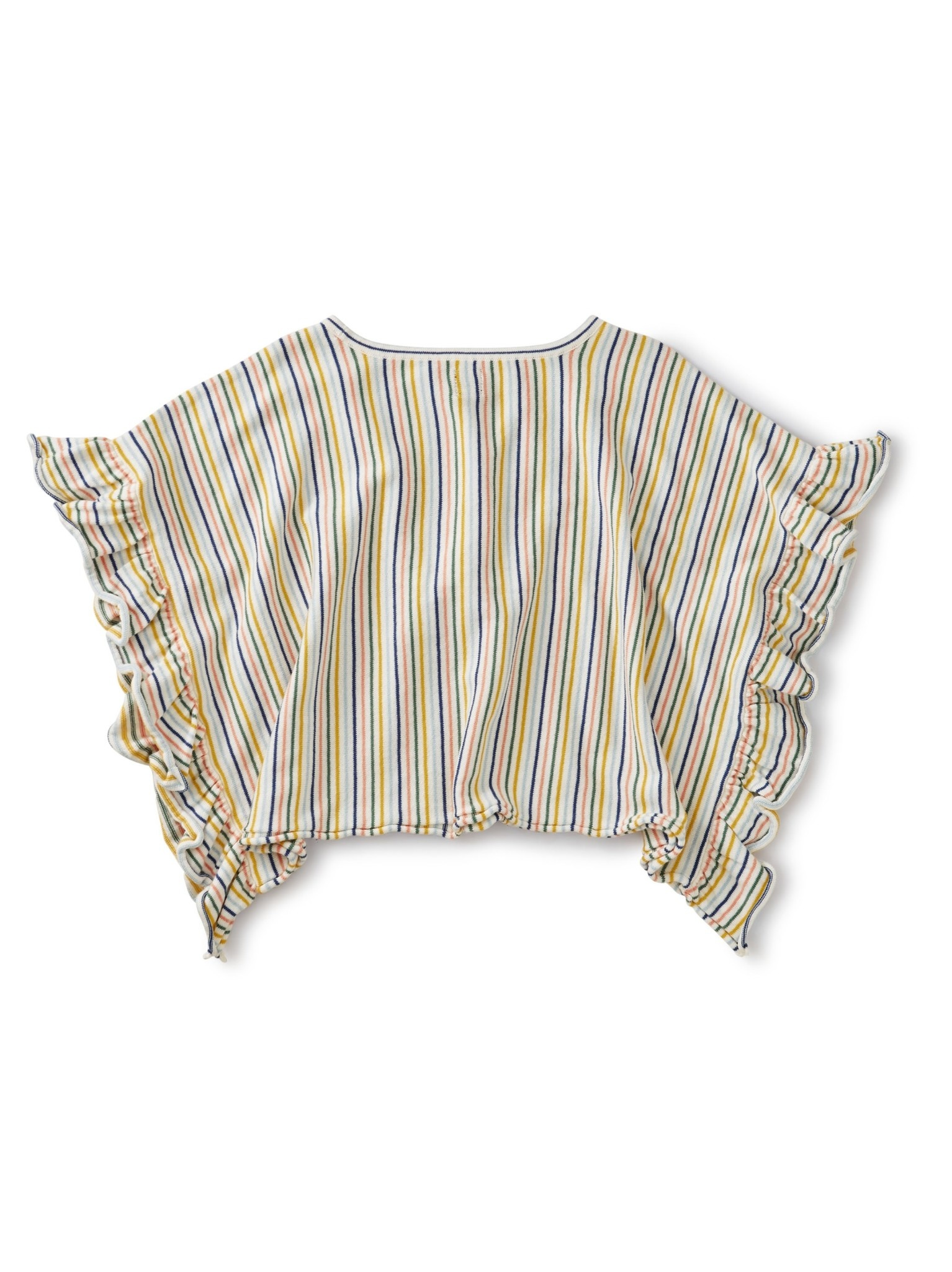 Tea Collection Striped Sweater Poncho