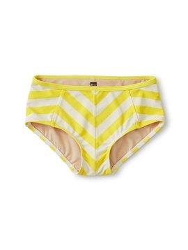 Tea Collection Yellow Stripe Tankini Bottom