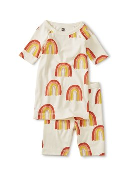 Tea Collection Rainbow Shortie Pajamas