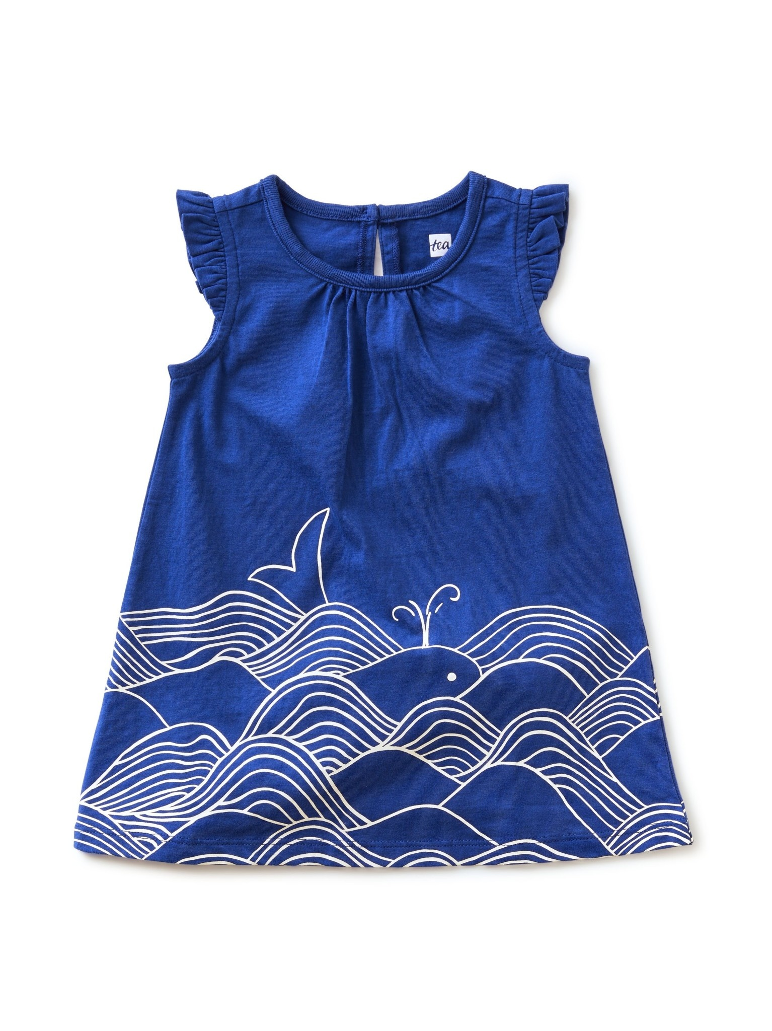 Tea Collection Astral In the Wind Ruffle Baby