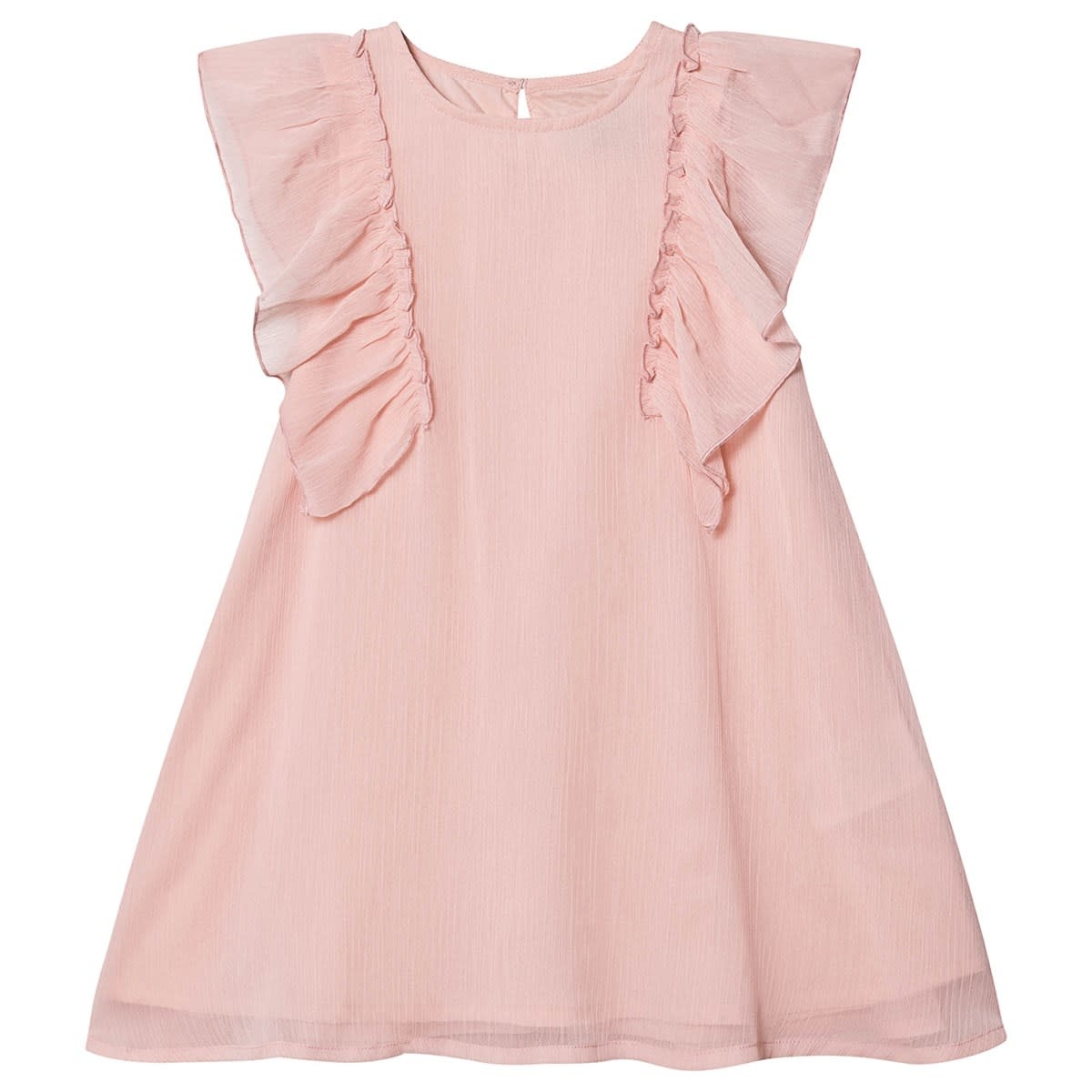 Creamie Chiffon Dress